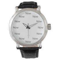 Now is Zen™ - Mindfulness Taoist Buddhist Wrist Watch