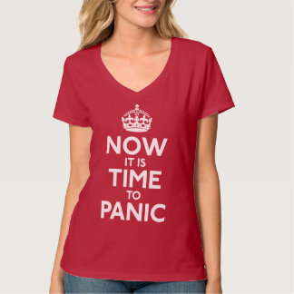Now It Is Time To Panic Shirt