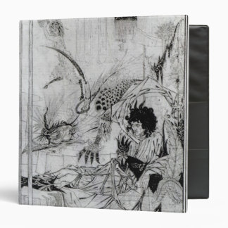 Now King Arthur saw the Questing Beast 3 Ring Binder