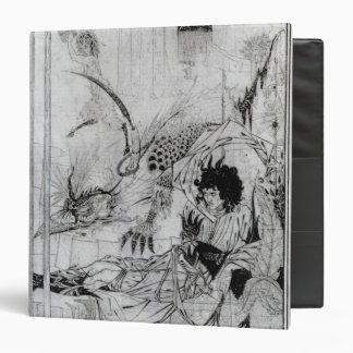 Now King Arthur saw the Questing Beast Vinyl Binder