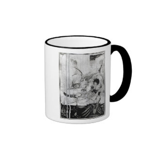 Now King Arthur saw the Questing Beast Mugs