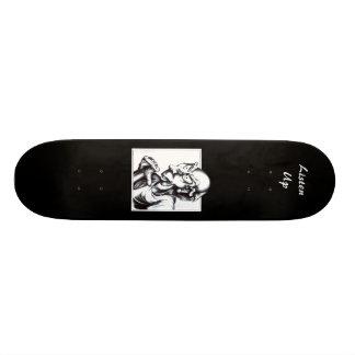 Now Listen Here Skateboard Deck