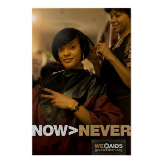 Now > Never Salon Poster