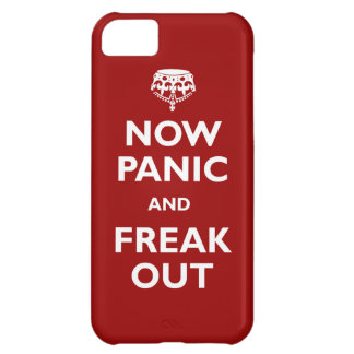 Now Panic And Freak Out Case For iPhone 5C