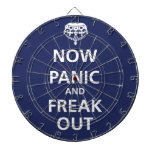 Now panic and freak out dart board
