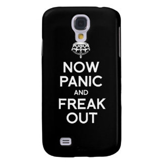 NOW PANIC AND FREAK OUT GALAXY S4 COVER
