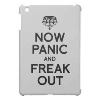 NOW PANIC AND FREAK OUT iPad MINI COVERS