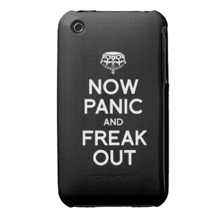 NOW PANIC AND FREAK OUT iPhone 3 Case-Mate CASE