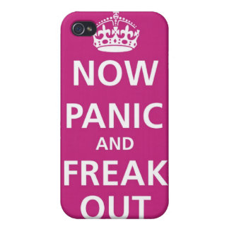 NOW PANIC AND FREAK OUT IPHONE 4 SKIN iPhone 4 CASE