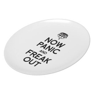 NOW PANIC AND FREAK OUT PLATES