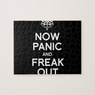 NOW PANIC AND FREAK OUT PUZZLES