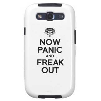 NOW PANIC AND FREAK OUT SAMSUNG GALAXY S3 COVERS