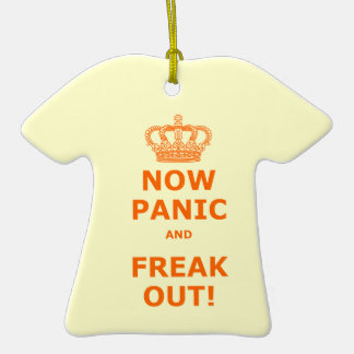 Now Panic & Freak Out! Ornament