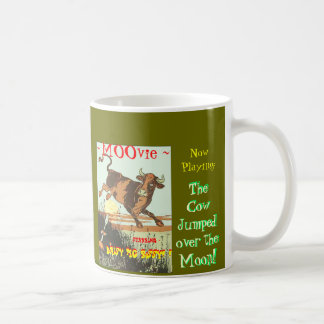 Now Playing --The Cow Jumped Over The MOOn! Coffee Mug