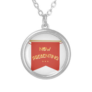 Now Presenting Round Pendant Necklace