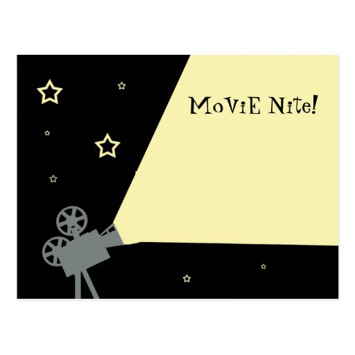 Now Showing! Postcard