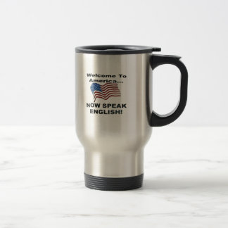 Now Speak English Travel Mug