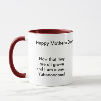 Now that they are grown... mug