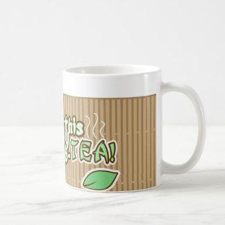 Now That's My Cup-O-Tea Bamboo Coffee Mug