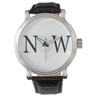 NOW: The Only Time is the Present Wrist Watch