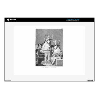 Now they are sitting well by Francisco Goya Laptop Skins