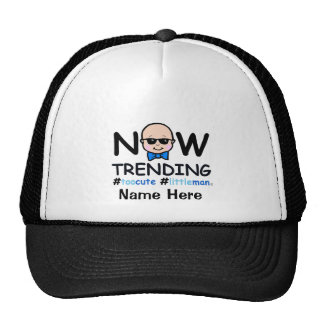 Now Trending Baby Boy Trucker Hat