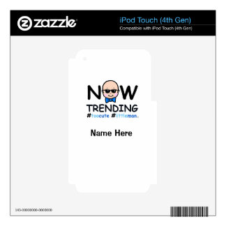 Now Trending Baby Boy iPod Touch 4G Skins