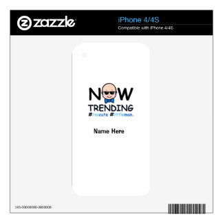 Now Trending Baby Boy Skins For The iPhone 4