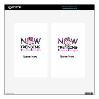 Now Trending Baby Girl Kindle Fire Skins