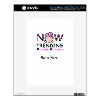 Now Trending Baby Girl NOOK Decals