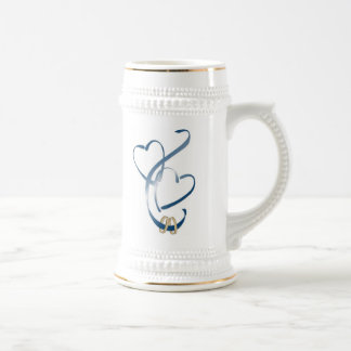 now we are one 18 oz beer stein