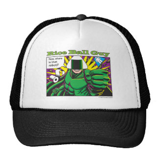Now where is that robot? trucker hat