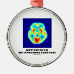 Now You Know My Innermost Thoughts (PET Scan) Ornament