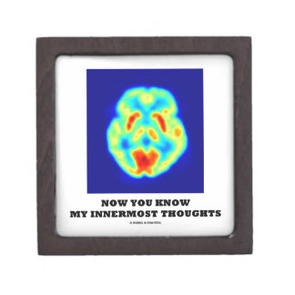 Now You Know My Innermost Thoughts (PET Scan) Premium Gift Boxes