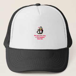 now you know what a cool grandma looks like trucker hat