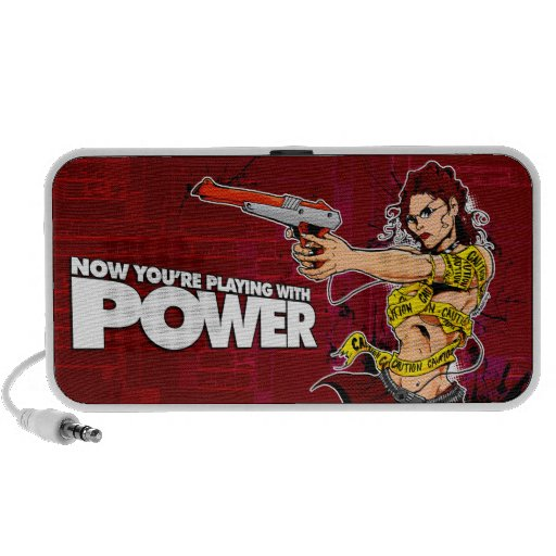 Now You're Playing With POWER! Portable Speaker