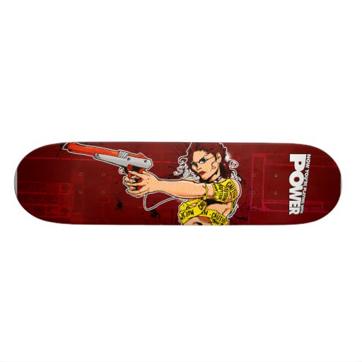Now You're Playing With POWER! Skate Board Deck
