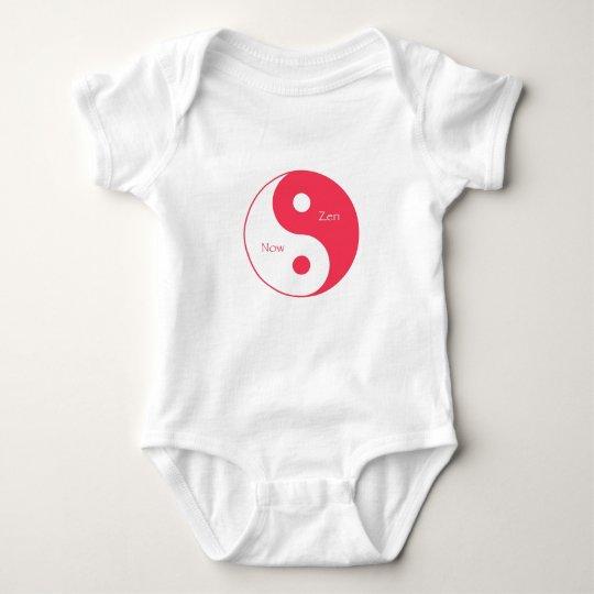 Now & Zen Magenta Baby Bodysuit