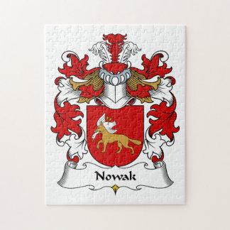 Nowak Family Crest Puzzle