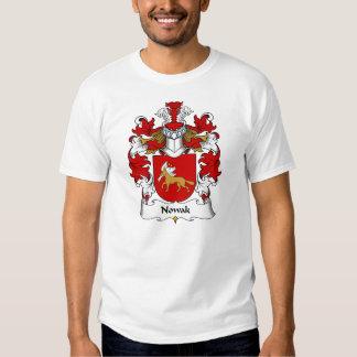 Nowak Family Crest T Shirt