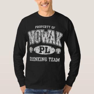 Nowak Polish Drinking Team T-Shirt