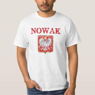 Nowak Surname Tee Shirts