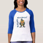 Nowboys Ladies 3/4 Sleeve Raglan (Fitted) T-Shirt