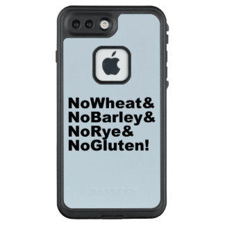 NoWheat&NoBarley&NoRye&NoGluten! (blk) LifeProof FRĒ iPhone 7 Plus Case