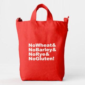 NoWheat&NoBarley&NoRye&NoGluten! (wht) Duck Bag