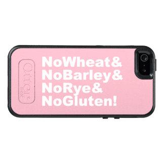 NoWheat&NoBarley&NoRye&NoGluten! (wht) OtterBox iPhone 5/5s/SE Case