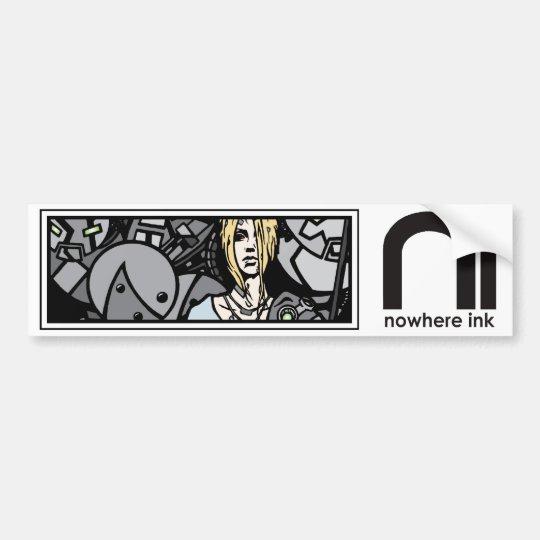 Nowhere Ink/Transient One Sticker