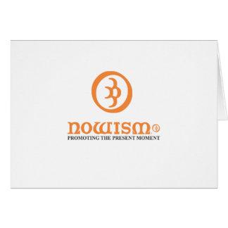 Nowism Logo Orange Range Card