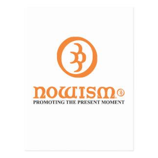 Nowism Logo Orange Range Postcard