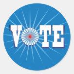 NowPower • VOTE ! Stickers, blue